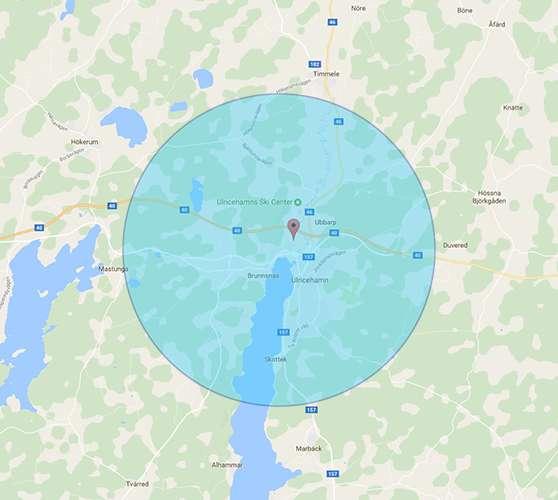 Bli synlig på Google i Ulricehamn med omnejd